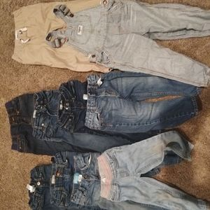 Lot of toddler jeans and pants
